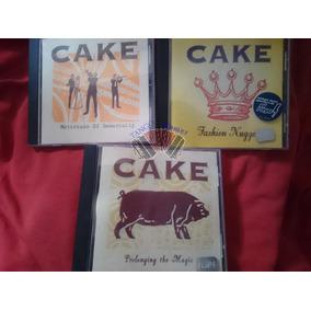 3 Álbum En Cd - Cake - ¡envío Gratis A Todo El País!