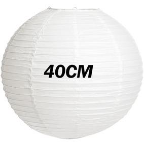 Lamparas Chinas, Color Blanco,globos 40x40cm Decoracion Boda