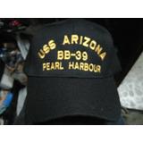 Gorro Uss Arizona Pearl Harbour - Made In Usa - Us Navy 49fb4f67266
