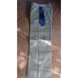 Pantalon De Vestir, Casual, Talle 8 C/corbata