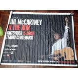 Poster Gigant Paul Mccartney Del Primer Concierto En Uruguay