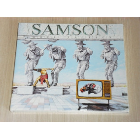 Cd Samson - Shock Tactics 1981 (inglês Digipack + 3 Bônus)