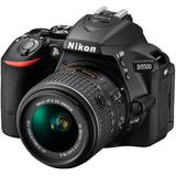 Camara Nikon D5500, 24mp, Lente 18-55, Wifi, Reflex