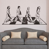 Vinilo Decorativo The Beatles 120x50 | Jota