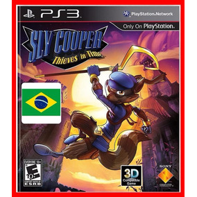 Sly Cooper Thieves In Time Viajante Do Tempo- Ps3 Digital