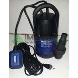Bomba Sumergible Para Agua Limpia, Turbia, Lodosa, Tipo Bala