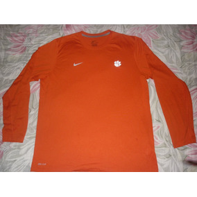 L Remera Deportiva Running Nba Naranja Fitdry Art 98216