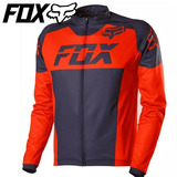 63befa777d135 Camisa Mountain Bike Fox Mtb Livewire Race Mako Flow Orange