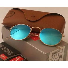 b1d184d8a ... wholesale ray ban round metal 3447 azul espelhado original rayban a1333  4588f