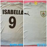 Camiseta De Uruguay Personalizada De Niño