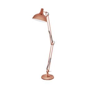 Lámpara De Pie Articulada Borgillio, Cobre - Eglo Eg0576