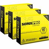 Kit C/ 3x Somapro 60 Caps Cada - 100% Original Iridium Labs