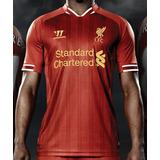 oferta  Liverpool Camiseta Warrior 2013 14 Titular Original 7251599418b23