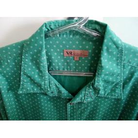 Camisa Manga Longa Estampada Masculino Vr Man Original f0b245e705224
