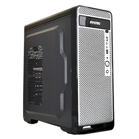 Gabinete Gamer Atx Micro Atx Fuente 600w Metal Naceb Ev-1003