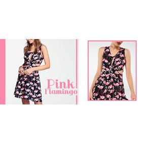 Vestido Flamingos