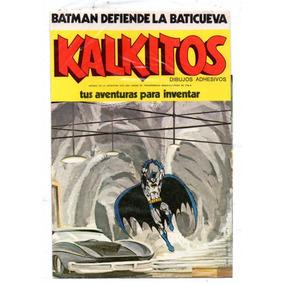 Kalkitos Batman Defiende La Baticueva, Nuevo Sin Uso
