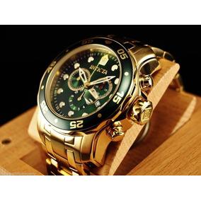 4906fadbc48 Relogio Invicta Ouro E A O - Relógio Invicta Masculino no Mercado ...