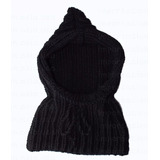 Gorras Tejidas Capucha Oso Estambre Crochet Para Adulto