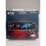 Radio 1 Din Car Bluetooth Sd Am Fm Bak Bk-298