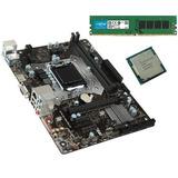 Kit Actualización Pc Intel G5400 8gb Ddr4 Mother Msi