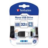 Verbatim 32gb Store N Go Nano Usb Flash Drive