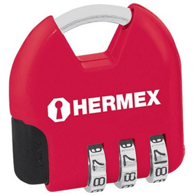 Candado Maletero Combinacion 3 Dig. Hermex 36 Mm - Herracor