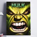 Cuadros Decorativos Hulk Poster Mural 40x60 Marvel Avengers