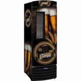 Cervejeira Vertical Porta C/ Visor 387 Litros Vn44fl 220v