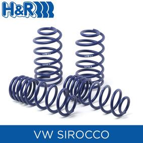 Espirales Progresivos H&r Sport Alemanes - Vw Scirocco