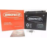 Bateria Ytx20 Bs Marca Bronco Cargada Cuadri Np 500 18 Ah