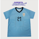 Camiseta Uruguay Replica Para Niño