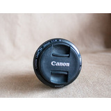 Lente Canon 50mm F:1,8 Con Detalle