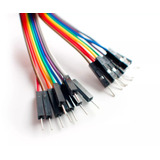 Cable Dupont Colores Cable Plano Macho Macho Arduino