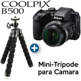 Nikon B500 + 1 Año Garantía Distribuidor Oficial - Black Dog