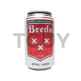 Cerveza Breda 330ml X24 Unidades Tcuy