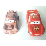 Cars Dos Autitos. Mate Y Rayo Articulo Nuevo