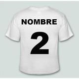 Estampado De Nombre Y Numero Camiseta Futbol Basket Hockey 662c2a769ccbb