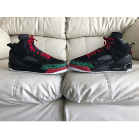 hot sale online 5ca9f 34d0f Tenis Air Jordan Spizike Red Green Del 25mx 7y