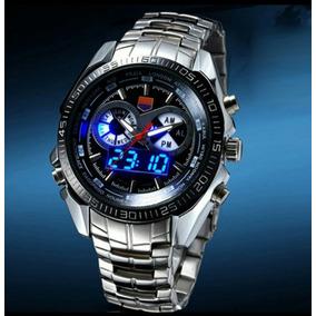7dd5902268b Relogio Led Masculino Esporte Branco - Relógios De Pulso no Mercado ...