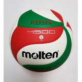 Balón Molten V5m4500 Voleibol Piel Sintética No. 5