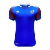 Camiseta Islandia Mundial Rusia 18 Por Encargue Casacas Uy