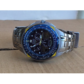 85696193e48 Caixa E Manual Do Relogio Citizen Skyhawk Blue Angels - Relógios ...