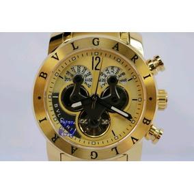 50afa14c894 Relógio Bulgari Iron Mem Dourado - Joias e Relógios no Mercado Livre ...