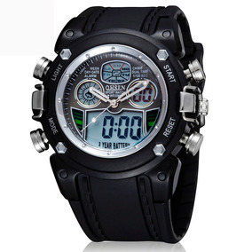 Reloj Digital 0721 Black