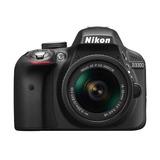 Camara Nikon D3300 W/ Af-p Dx 18-55mm Nueva
