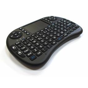 Mini Teclado Wireless I8 Negro Retroiluminado