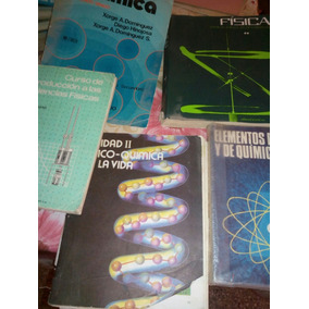 Lote De Libros Clasicos De Fisica Y Quimica