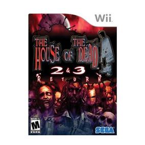 The House Of The Dead 2 & 3: Return - Wii / Mídia Física