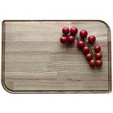 Legnoart Rialto Ash Wood Cutting Board, 20 By 13-1/2 By 1-in